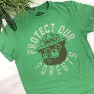 Smokey Bear Protect our Forests Graphic Tee